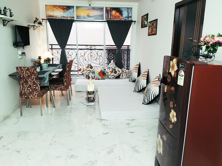 Entire 2BHK Aprt @ 2nd Floor|Your Own Home& Heaven