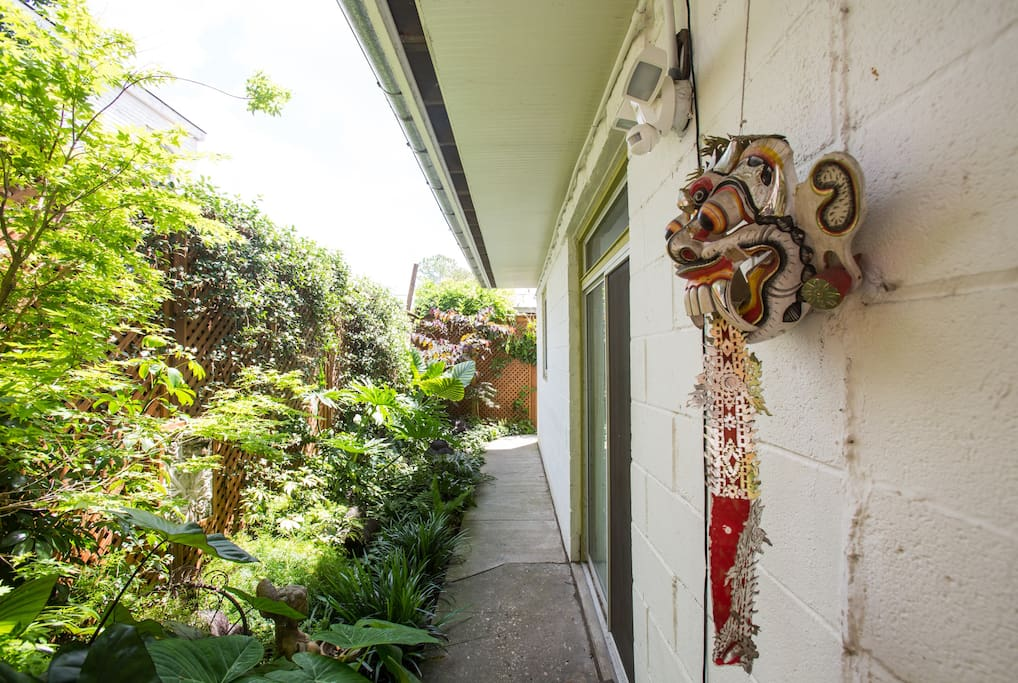 Garden Entryway