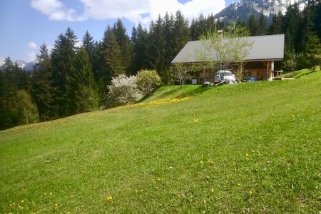 Berghaus auf 1400m, ruhig, Natur pur