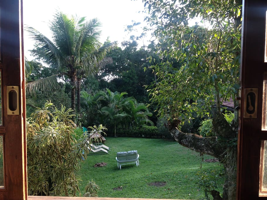 Vista do Chalé