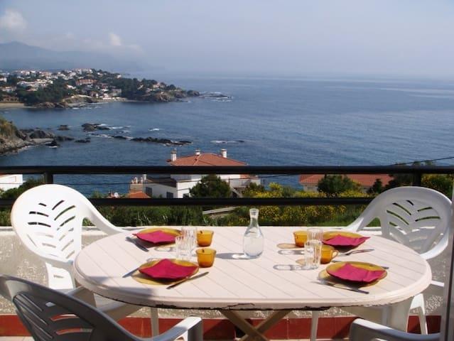 043 Apartment sea views with terrace - Llançà - Apartemen