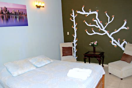 Queen room with private bathroom - Bed & Breakfast