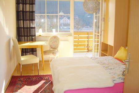 Lust auf Land ? Schönes Zimmer mit Balkon - Gössweinstein