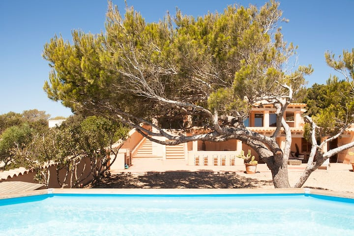 beautiful villa with pool