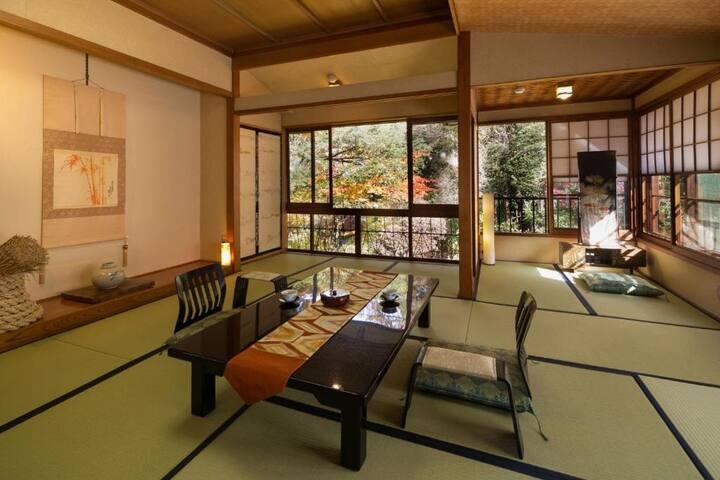 10mins->Shimosuwa Sta./OldJPN room+toilet(B&B)
