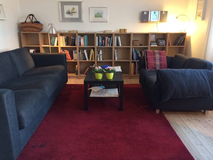 Central, comfortable and quiet long time sublet