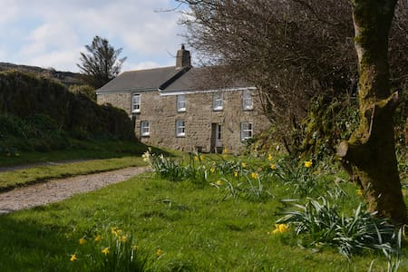 Chykembro Farm Studio, Zennor, St.Ives With garden