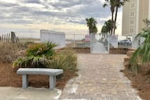 Two Beach Accesses: Private Beach access 10 minute walk