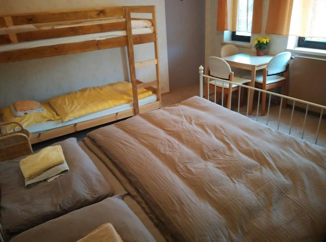 Rooms for 2-4 people, own garden, parking, Vienna - Gänserndorf