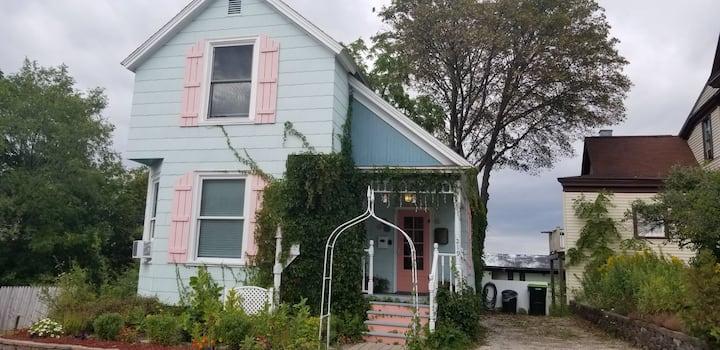 Location location historic gaslight Petoskey home