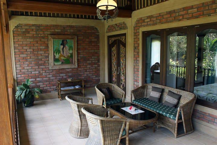 Private verandah