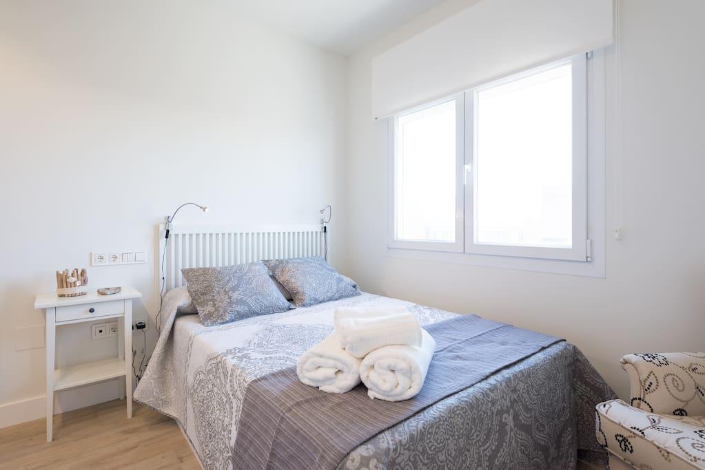 Dormitorio doble 2, orientación sur