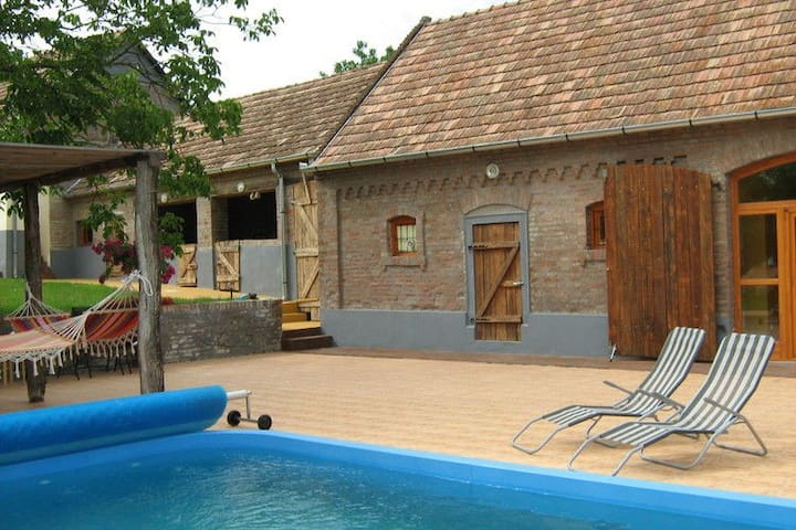 Huis in Hongarije met zwembad! - Magyarlukafa - Talo