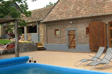 Huis in Hongarije met zwembad! - Magyarlukafa