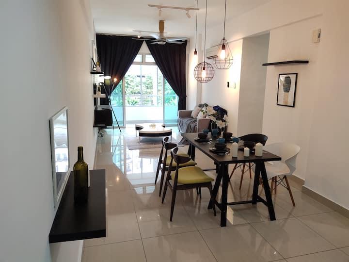 MIDORI M Austin /3 bedrooms/ 7 pax/ Cozy/ Poolview