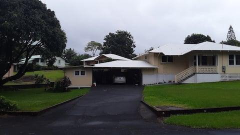 E Komo Mai (Welcome in Hawaiian) in Pahala, Hawaii