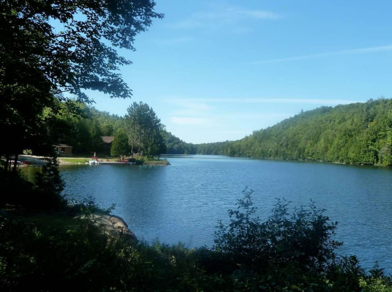 Deer Lake - your own private spring fed, glacier lake - swim, fish, boat--relax