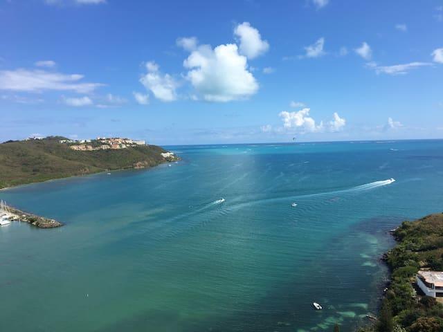 Ocean marina views apt Fajardo - Fajardo - Departamento