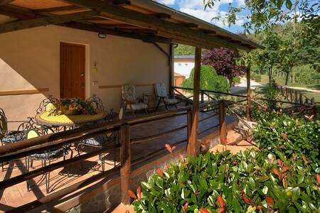 Casa con terrazzo in Agriturismo. Piscina WiFi - Terranuova Bracciolini