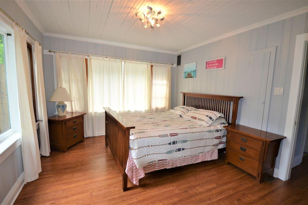 Bedroom as you walk in