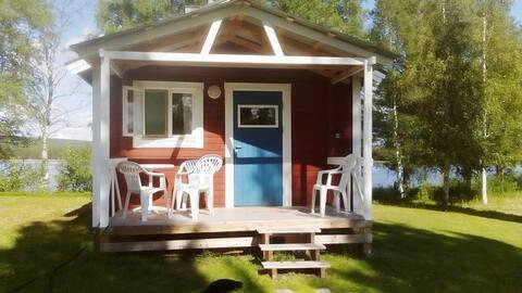 Casa de campo à beira do lago