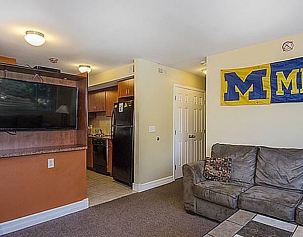 Bedroom in Beautiful Apt Near U-M Central Campus - Ann Arbor - Apartmen