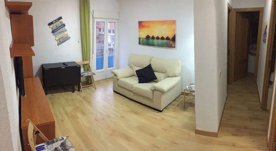 apartamento a 500 metros del tren CON WIFI Y TVLED - Madrid - Lakás