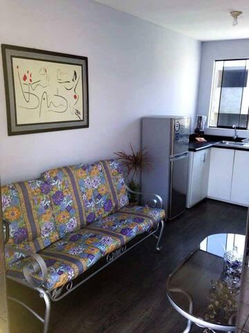 Habitación persona sola en departamento compartido