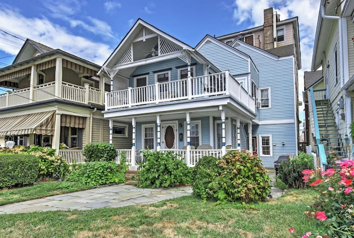 Ocean Grove Apt. w/ Balcony: 1 Block to the Beach!