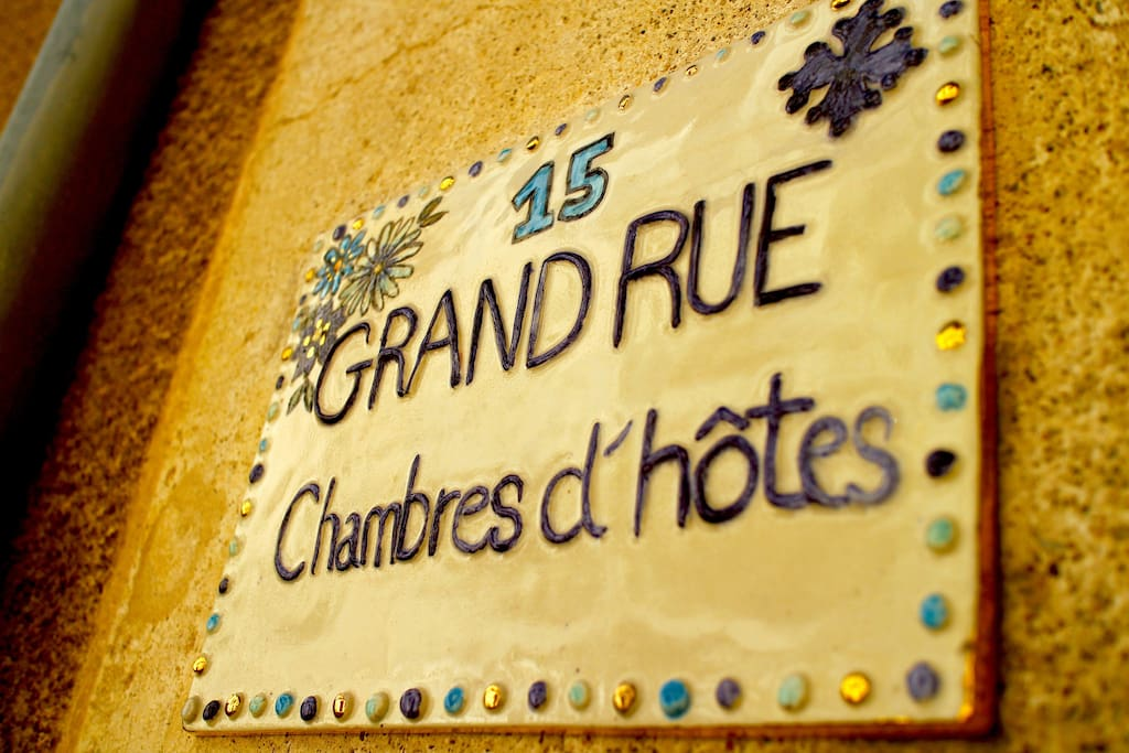 Welcome to 15 Grand Rue - your luxury B&B