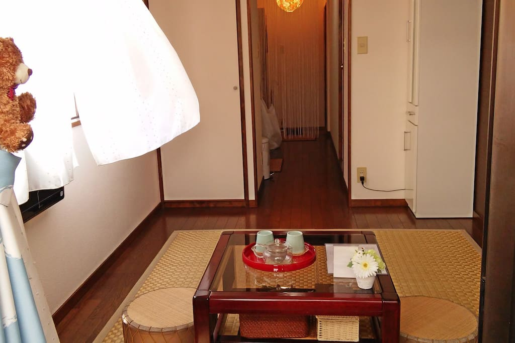 Airy room & Bright room