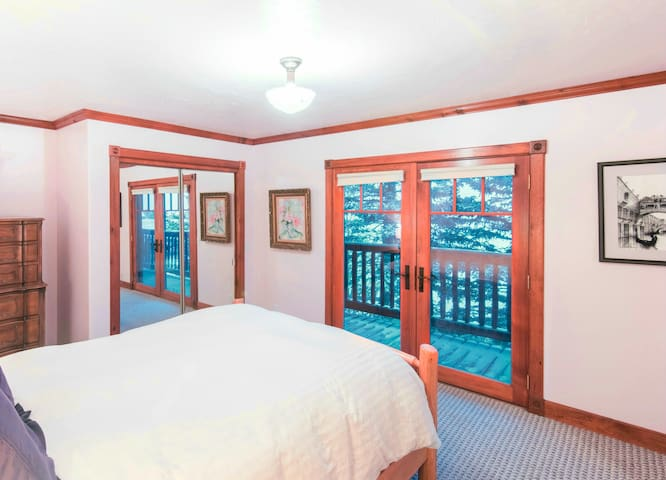 Wake up to gorgeous views just outside your bedroom door.