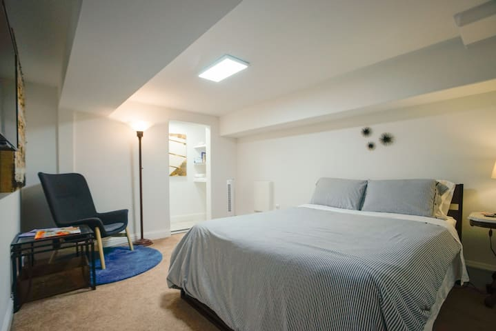 Private 4-room suite in heart of Mission District