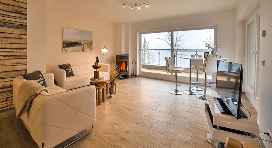 Charming Appartement mit Seeblick - Bad Saarow - Apartamento