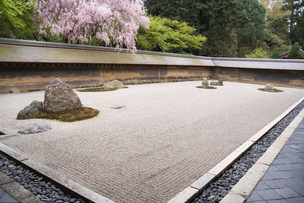 Ryoanji / Zen Garden - 10 min walk away