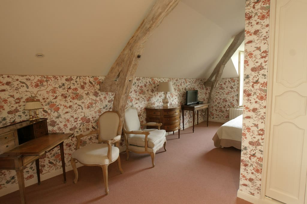 Le Chatenet, Chambre double Printemps