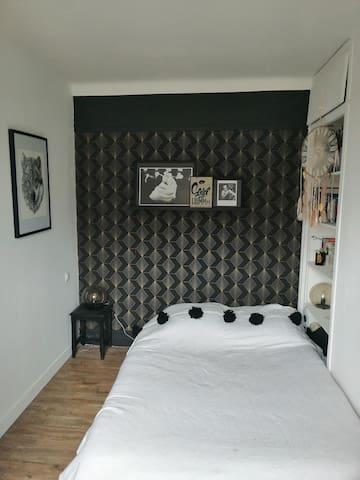 Appartement lumineux à 20 min de Paris.