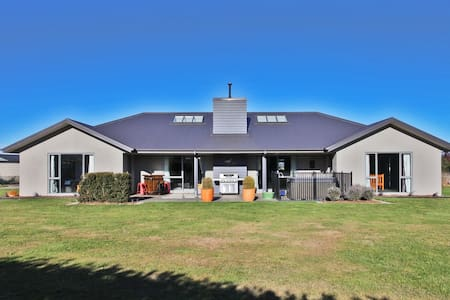Relax in a warm modern home - Leithfield - Dom