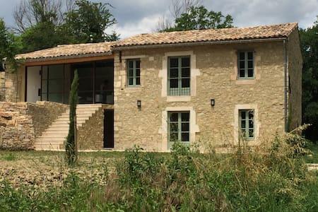 Mas provençal dans le Gard - Pont-Saint-Esprit - Hus