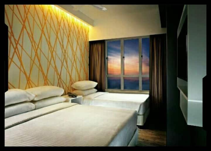 Genting First World Hotel Y5 Triple room