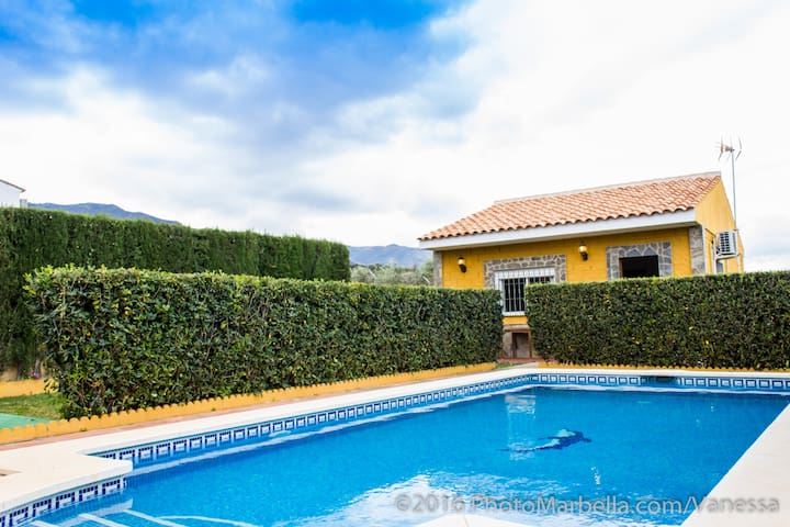 Private serene villa with own pool and garden