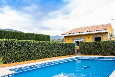 Private serene villa with own pool and garden - Pinos de Alhaurín - Ház