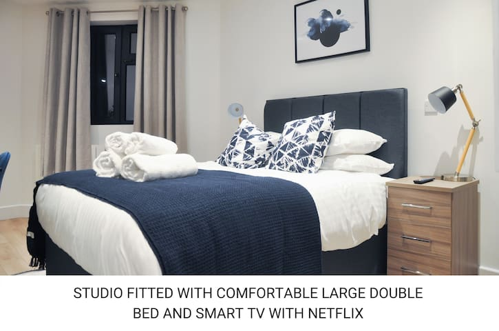 Brand new modern Studio in Central Southampton