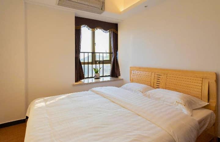 中式现代观海度假公寓