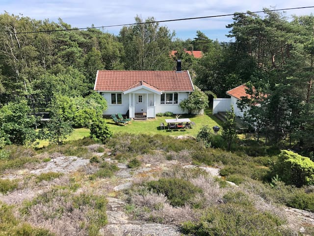 A summer dream by the sea in Bohuslän (Bohuslan)