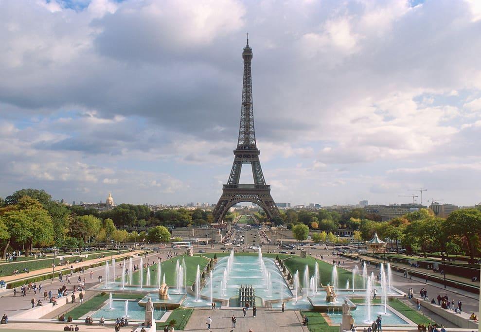Jardin du Trocadero (15 mn)
