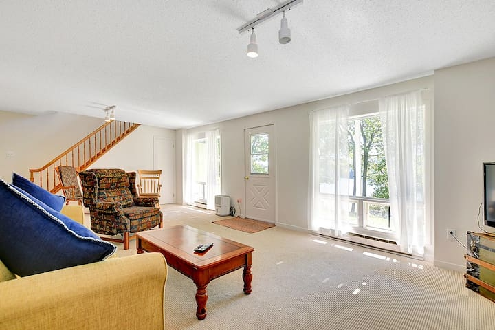 Lower level  walkout with its own porch.