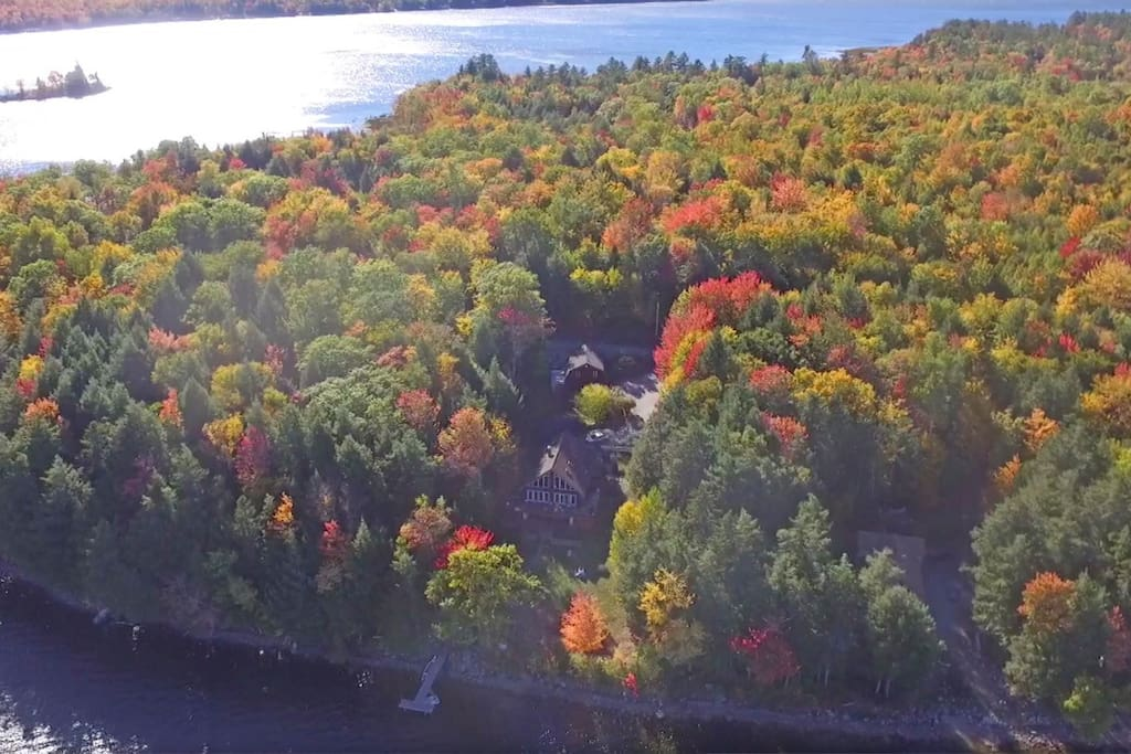 Overhead view on a Glorious Autumn day