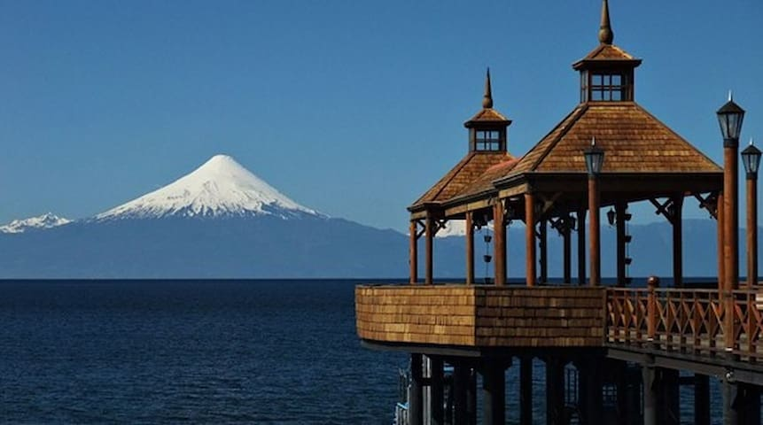 Hermosa cabaña en parcela campestre - Frutillar  - Rumah