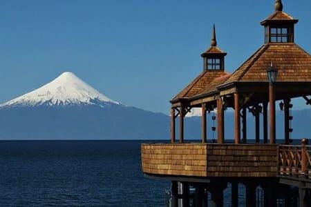 Hermosa cabaña en parcela campestre - Frutillar